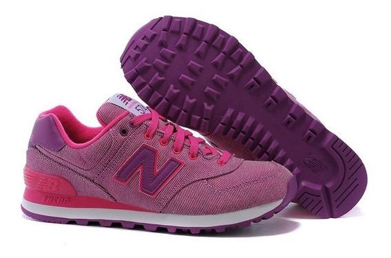 Zapatillas New Balance 574 100% Originales Mujer 7 Modelos