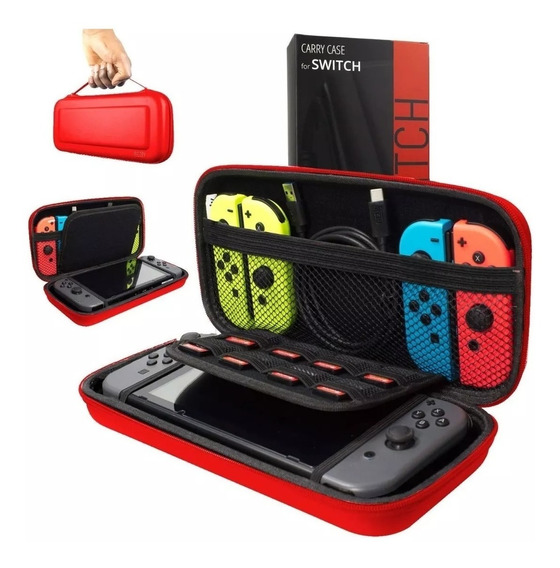 Funda Nintendo Switch Estuche Protector Orzly Original Rigid