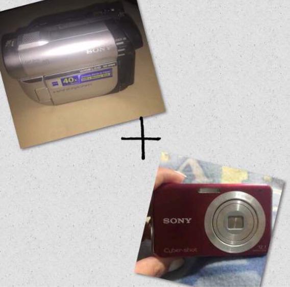 Câmera Sony Filmadora + Cameradigital Sony Super Conservadas
