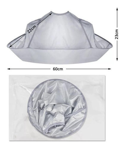 Capa Corte Pelo- Cabello- Peluquera, Plegable