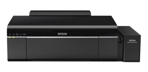 Impressora a cor fotográfica Epson EcoTank L805 com Wi-Fi 110V preta