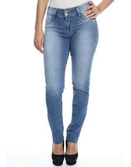 Calça Jeans Feminina Skinny Sawary - 229210