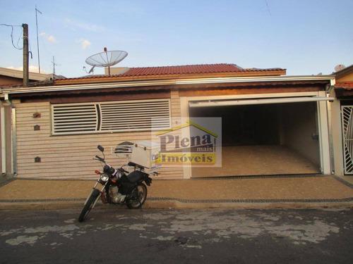 Casa Residencial À Venda, Vila Valle, Sumaré. - Ca3379