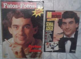 Revistas Fatos E Fotos E Manchete Morte De Ayrton Senna