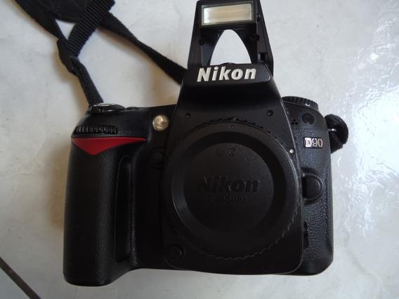 Nikon D 90- Corpo - 32 Mil Cliks