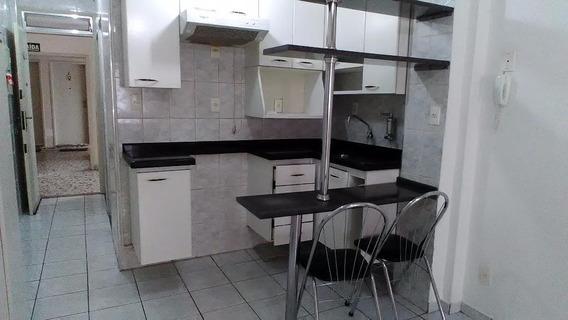Apto. Residencial Para Locação, Boqueirão, Santos. - Kn0272