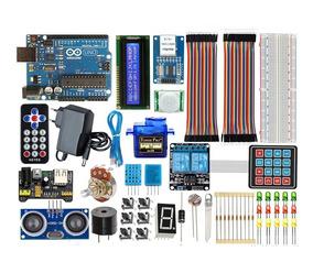 Kit Arduino Uno R3 Intermediate - Pronta Entrega