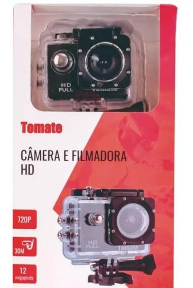 Camera Filmadora Ação P/ Capacetes Trilha Mergulho Aventura