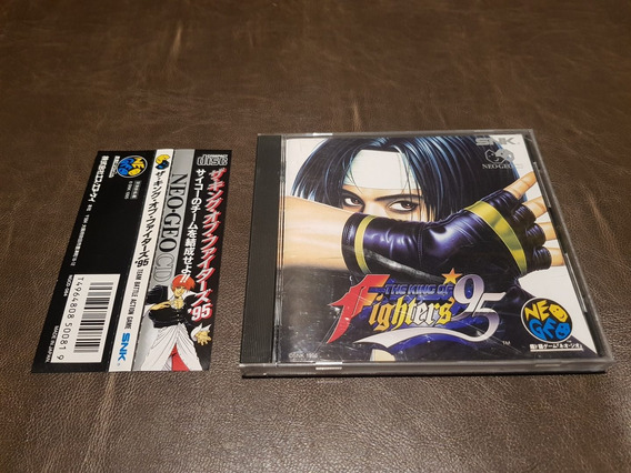 The King Of Fighters 95 Neogeo Cd Japones Completo Frete 15