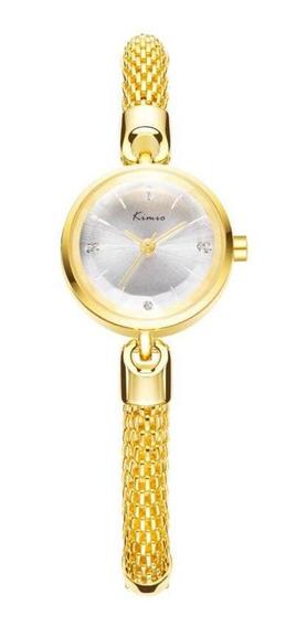 Kimio Kw6128s Moda Mulheres Relógio De Quartzo Elegante Puls