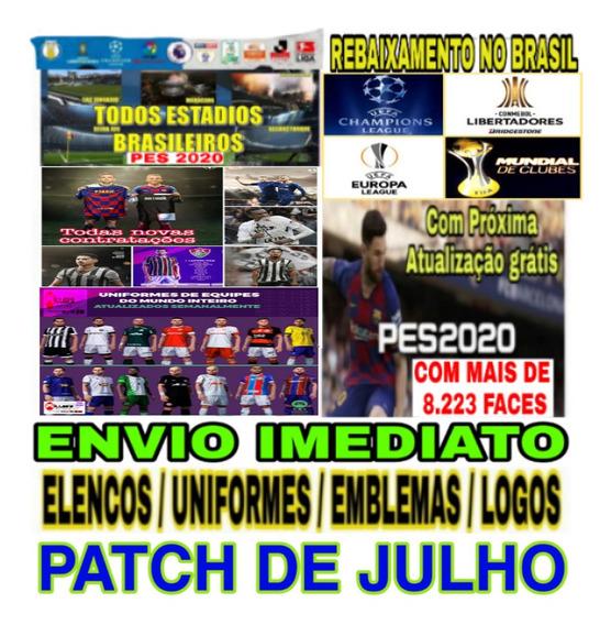 Patch Pes 2020 Ps4 - Brasileirão 2020/2021 + Edição Grátis