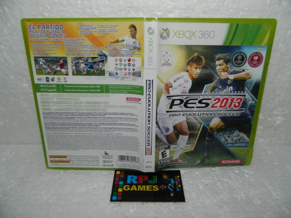 Pes 2013 Original Midia Fisica Completa P/ Xbox 360 - Loja