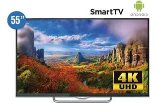 Tv Smart Global Android De 55 4k-uhd