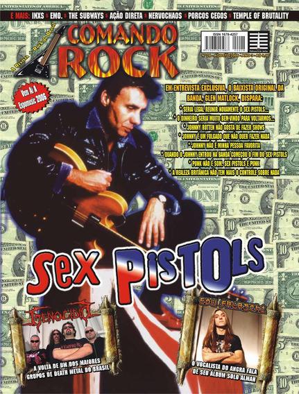 Revista Comando Rock Nº 28 - Sex Pistols (nova)