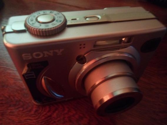 Câmera Digital 5.1mp Sony Cybershot Dsc-w5 - Leia O Anúncio