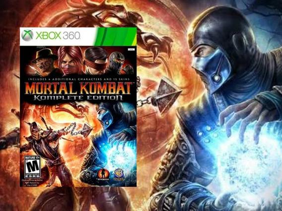 Mortal Kombat Xbox360 (midia Digital)