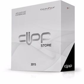 Clipp Store 2015 Compufour Nfc-e + Nf-e + Suporte + Frete