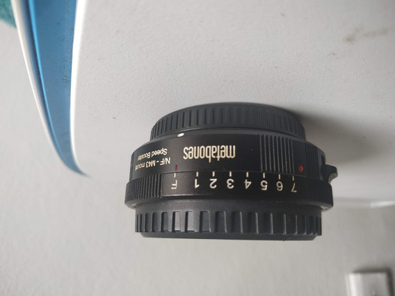 Metabones Speed Bosster Nikon F Para M4/3