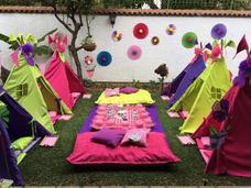 Teepee Party, Mini Spa, Pijamadas, Estaciones De Bebidas