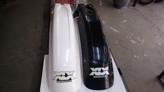 Paralama Dianteiro Xlx 350 Preto Com Adesivo