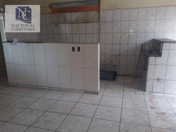 Salão Para Alugar, 46 M² Por R$ 850/mês - Parque Oratório - Santo André/sp - Sl0835