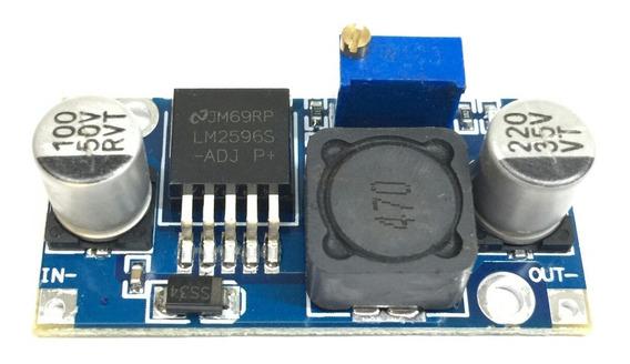 10x Regulador De Tensão Step Down Dc-dc Lm2596