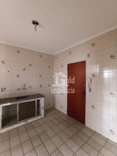 Apartamento Com 3 Dormitórios Para Alugar, 92 M² Por R$ 850,00/mês - Jardim São Luiz - Ribeirão Preto/sp - Ap3225