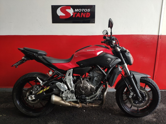 Yamaha Mt 07 Mt07 Mt-07 2016 Vermelha Vermelho