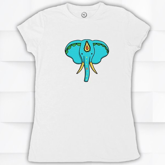 Playera Para Mujer, Niño (a), Hombre Elefante #1601