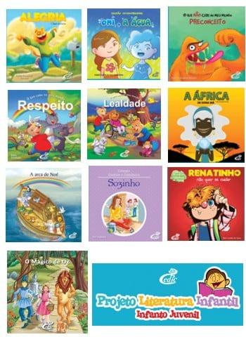 Projeto Literatura Infantil Infanto Juvenil