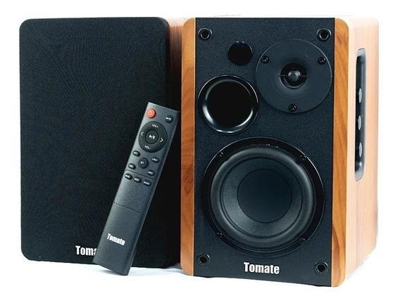 Caixa Som Ativa Bluetooth Entrada Óptica 100w Tomate Mts2026