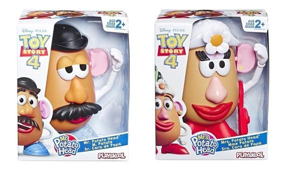 Sr & Sra Cabeça De Batata Potato Head Toy Story 4 Hasbro