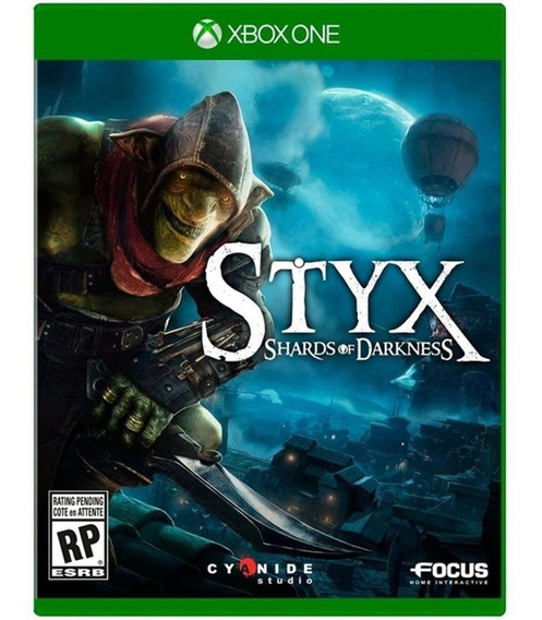 Styx Shards Of Darkness Xbox One Midia Fisica Game Nacional