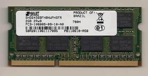 Memoria Notebook Smart 2gb Ddr3