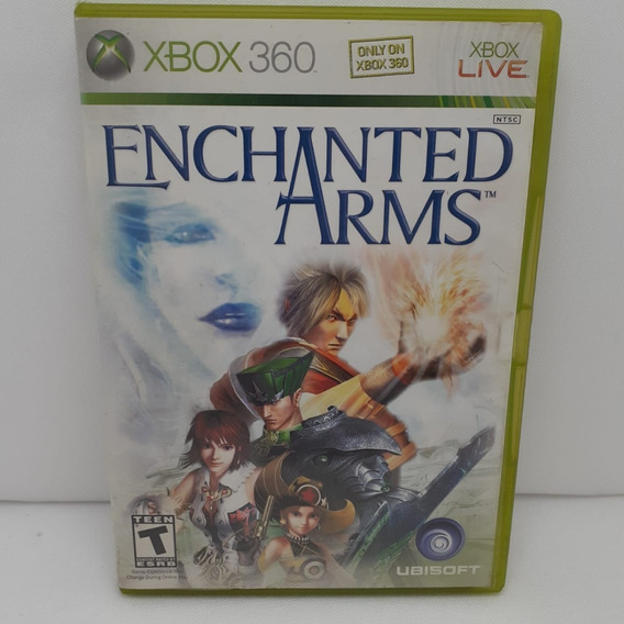 Jogo Enchanted Arms Xbox 360 Semi Novo Testado