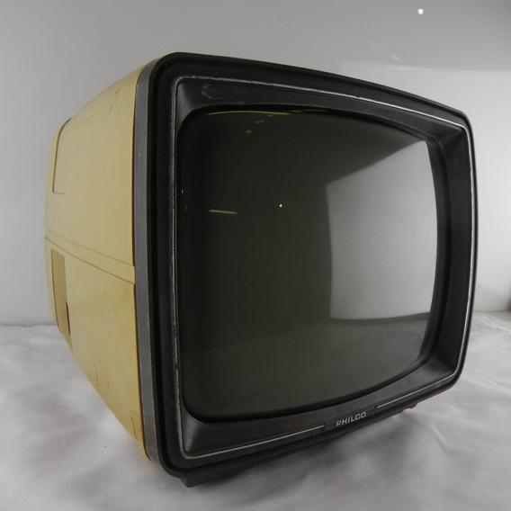 Tv Philco De Luxe 12 Electronic Soft Selector Usado Com Def