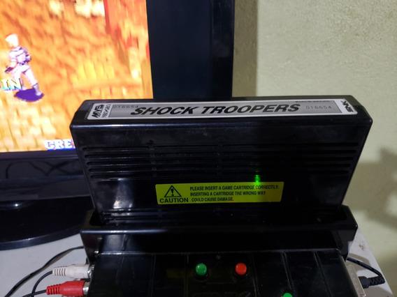 Shock Troopers Mvs Original Neogeo Parc.sem Juros Fretgratis
