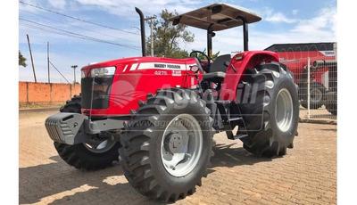 Trator Massey 4275 4×4 Ano 2018 Com 4 Horas De Uso!