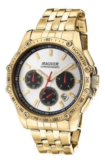 Relógio Magnum Masculino Com Cronógrafo Ma33522h