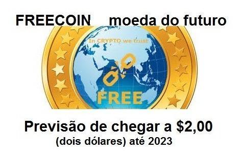 Comprar 100 Milhões Freecoin Free Criptomoeda Altco