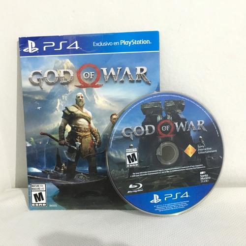 God Of War 4  Ps4 Caja De Cartón