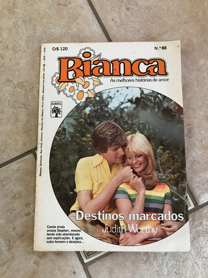 Livro De Romance Bianca Número 88 Destinos Marcados