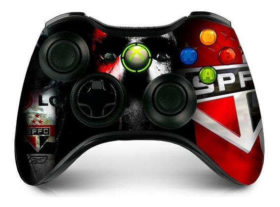 Kit 2 Skin Controle Xbox 360 Adesivo Verniz Brilho Ou Fosco