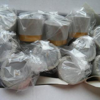 Velita Vela Velerito Cemento Hormigon (5,5 X4,5 Cm) Souvenir