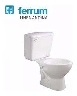 Sanitarios Ferrum Andina Inodoro Corto Mochila Colgar Baño
