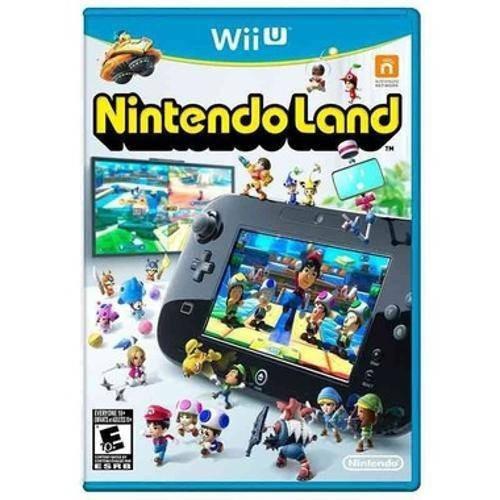 Nintendo Land - Wii U Original Físico Novo E Lacrado