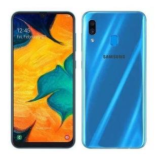 Samsung Galaxy A30 4g 64gb Lacrado 1 Ano Garantia Samsung Nf