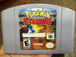 Juego De Nintendo 64 ( Pokemon Stadium)