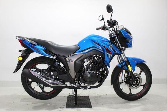 Haojue Dk 150 S 2020 Zero Km Azul Injeção Eletrônica