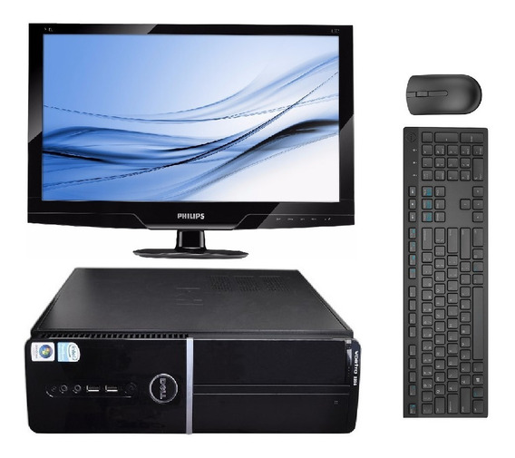 Computador Dell Core 2 Duo 2gb Ram + Monitor 19 Led